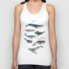 Whales Unisex Tank Top
