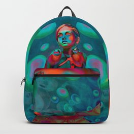 """""""Psychedelic Pop Fantasy"""" (Twiggy) Backpack"""