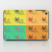 popart iPad Cases featuring Feathers PopART by UnifiedGlory