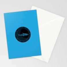 Engraved Shark Stationery Cards