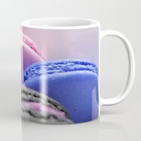 macaroons Mugs featuring macaroons by Whimsy Romance & Fun