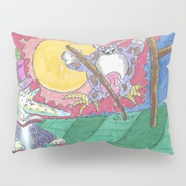 "James Joyce & The ""Hey Diddle Diddle"" Cow Pillow Sham"