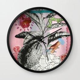 LEMON FARMER Wall Clock