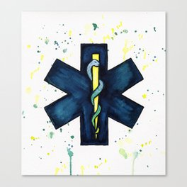 EMT Hero Canvas Print