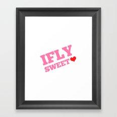 IFLY Sweetheart Framed Art Print
