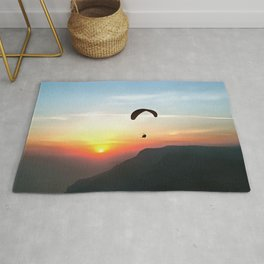 Sunset Paraglide Rug