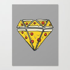Pizzas are Forever Canvas Print