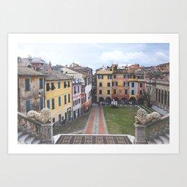 ITALY STREETS Art Print
