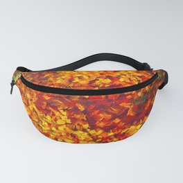 Autumnal Abstraction Fanny Pack