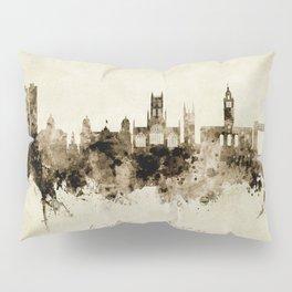 Kingston upon Hull England Skyline Pillow Sham