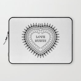 Love hurts Laptop Sleeve