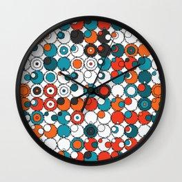 Raw Bubbles Wall Clock