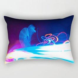 Windy Waves - Lightwriting Rectangular Pillow