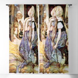 """The Millers Daughter"" by Anne Anderson Blackout Curtain"