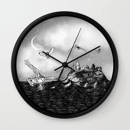 Owls of Hogwarts Wall Clock