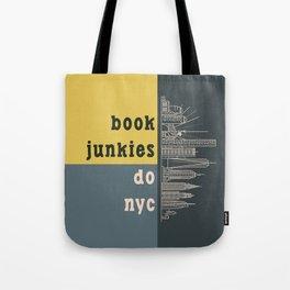 Book Junkies do NYC Tote Bag