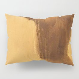 Golden Pillow Sham