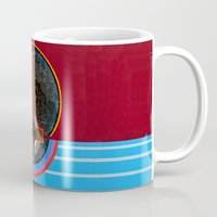 flag Mugs featuring Flag by Canson City