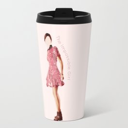 Clara Oswald: Impossible Girl Travel Mug