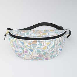 Abstract Circuit Fanny Pack
