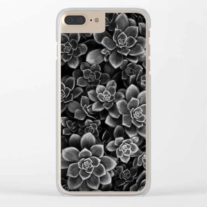 Her Black Soul Clear iPhone Case