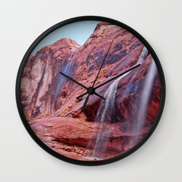 Product of a Storm Wall Clock