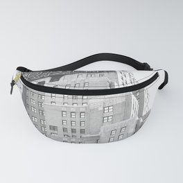 New Yorker Sign - NYC Black and White Fanny Pack