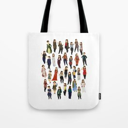 Every Clara Outfit Ever | S8 Tote Bag