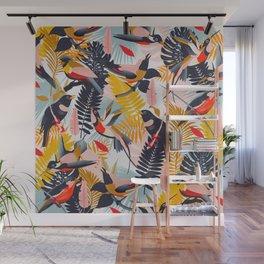 Paradise Birds II. Wall Mural