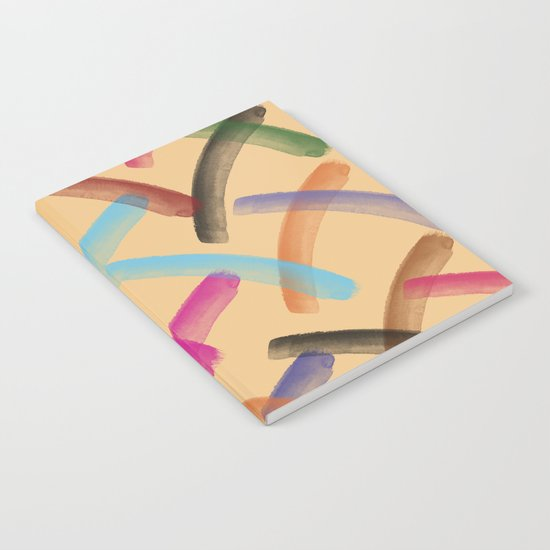 Colourful patterns Notebook