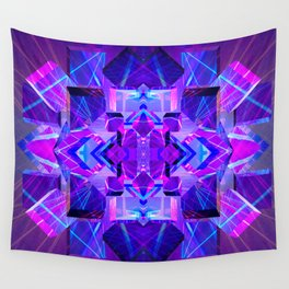 Holographic Light Wall Tapestry