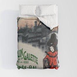 Moulin De La Galette 1896 Paris Comforters