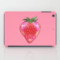 strawberry iPad Cases featuring Strawberry by Ornaart