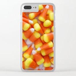 Candy Corn Galore Clear iPhone Case