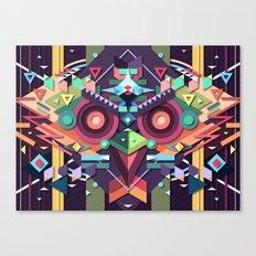 BirdMask Visuals - Buzzard Canvas Print