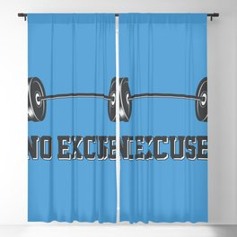 No excuses Blackout Curtain
