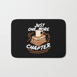 Book Reading - Just One More Chapter Bath Mat
