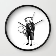 2 faced Wall Clock