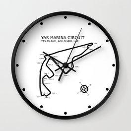 Yas Marina Circuit Wall Clock
