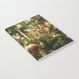 Golden Noel Notebook