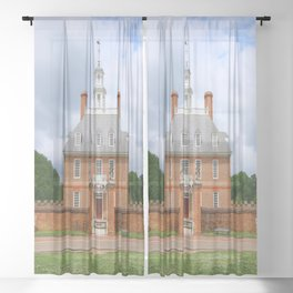 Colonial Williamsburg  Governers Palace Sheer Curtain