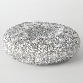 PASTEL PALE MANDALA IZARRA ARROSA PATTERN Floor Pillow