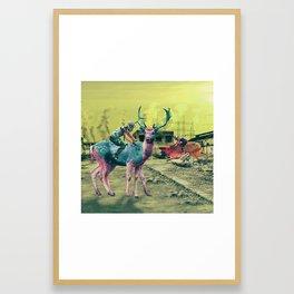Human Nature; or A.D. 5000 Framed Art Print