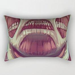 Attack on titan Rectangular Pillow