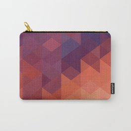 Colorful Triangle Carry-All Pouch