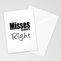 Mrs. Valentine Stationery Cards