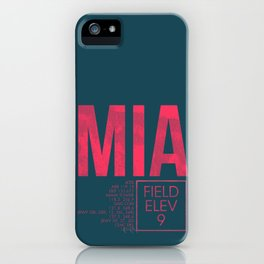 MIA II iPhone Case