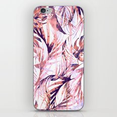 Coral Tropical Palms iPhone & iPod Skin