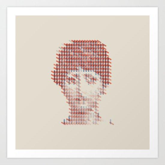 Pattern Recognition Art Print