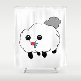 Sheep the Bleep Shower Curtain